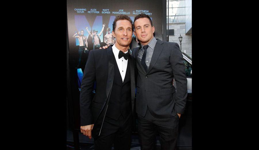 Matthew McConaughey et Channing Tatum