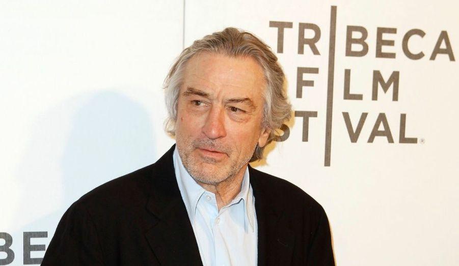 Robert De Niro, à l'avant-première du film The Bang Bang Club, durant le Tribeca Film Festival de New York .