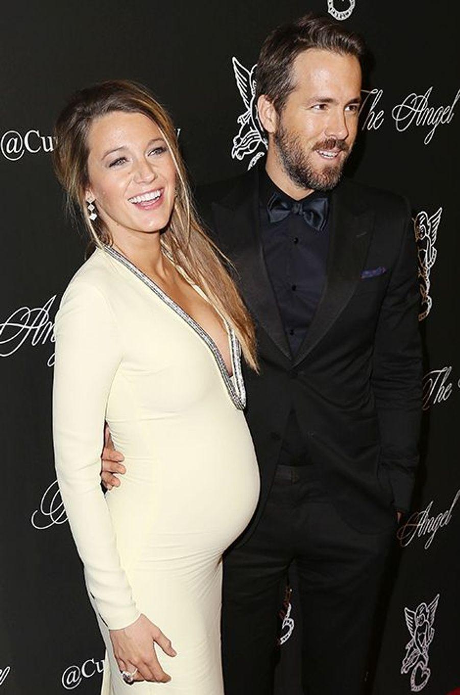 "Blake Lively et Ryan Reynolds au gala ""Angel Ball 2014"" organisé le lundi 20 octobre 2014 à New York"