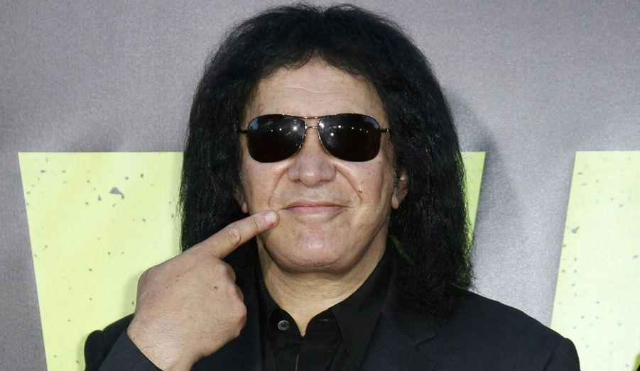 Gene Simmons, membre du groupe KISS