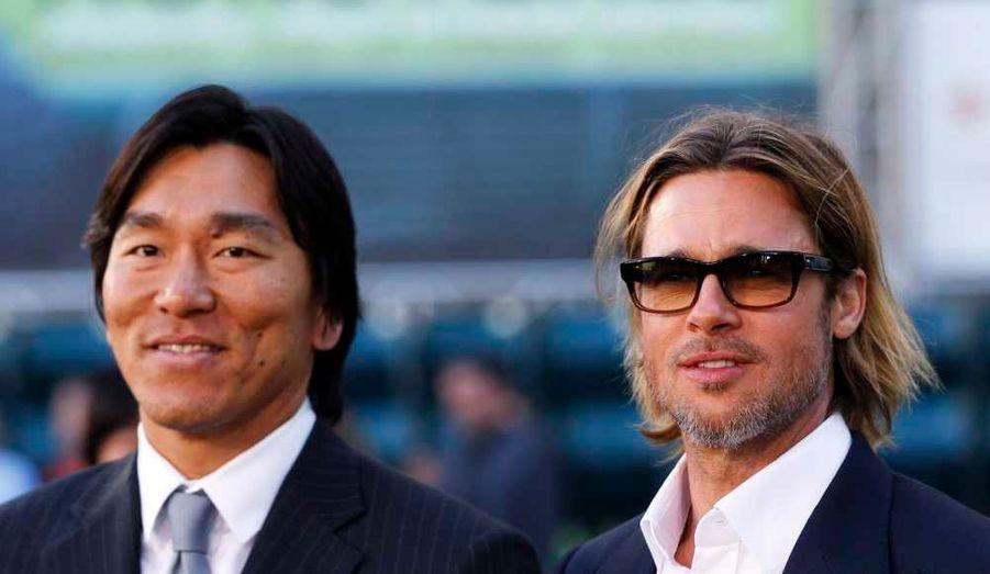 avec Hideki Matsui