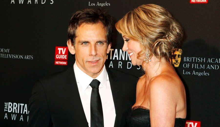 Ben Stiller et Christine Taylor