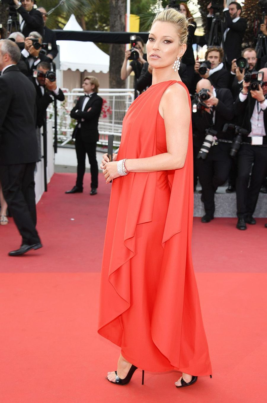 Kate Moss à Cannes, le 16 mai 2016