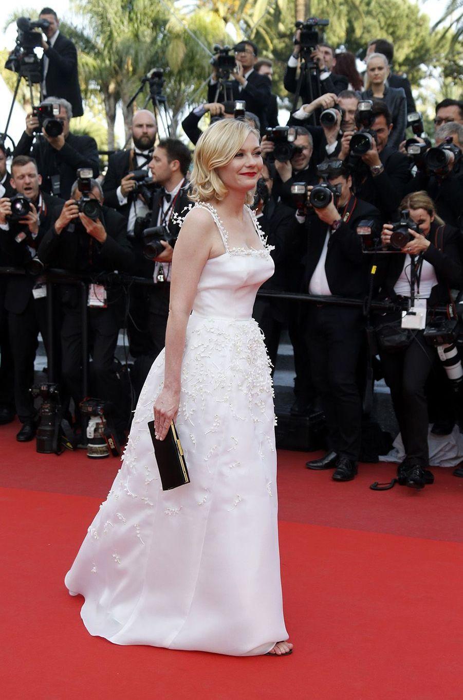 Kirsten Dunst, à Cannes, le 16 mai 2016
