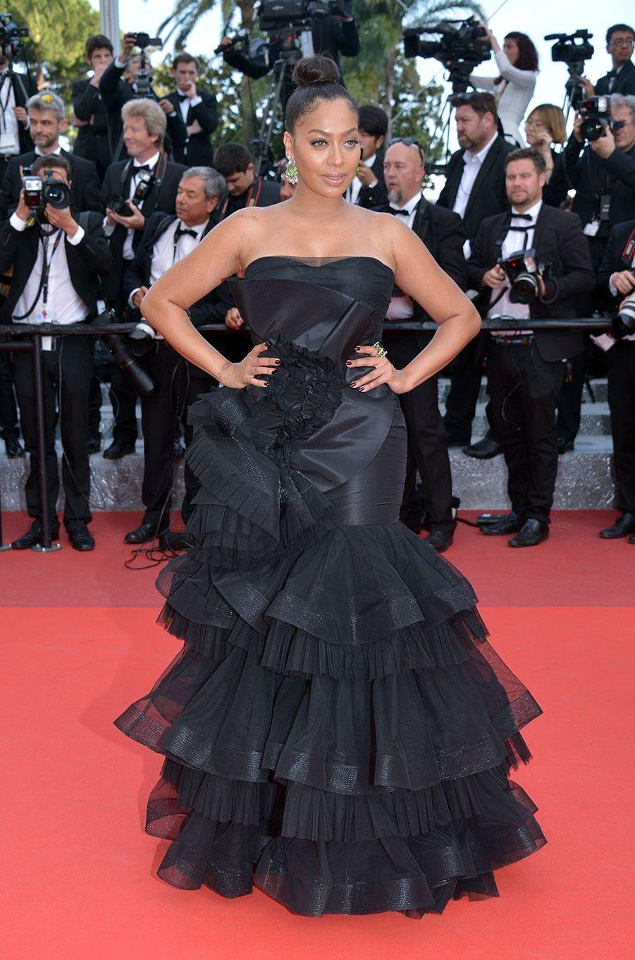 La La Anthony, à Cannes, le 16 mai 2016