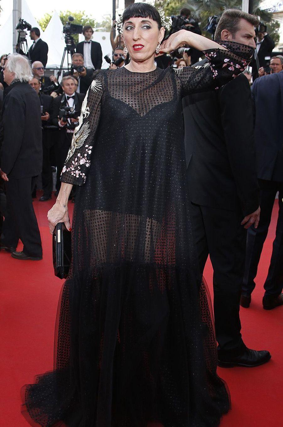 Rossy De Palma, à Cannes, le 16 mai 2016