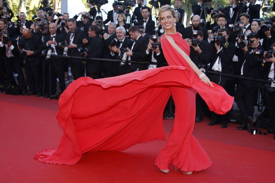 Petra Nemcova à Cannes