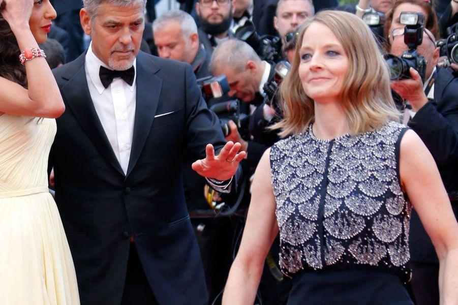 """Jodie Foster présente son film """"Money Monster"""" à Cannes"""