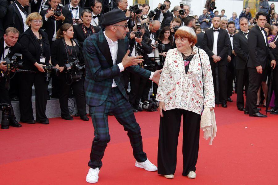 Agnès Verda à Cannes