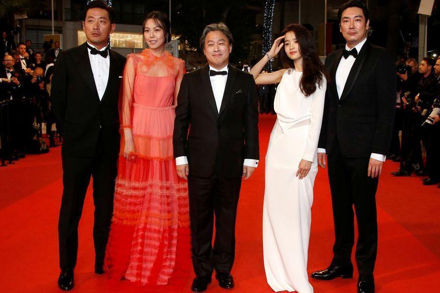 """L'équipe de """"Mademoiselle"""" de Park Chan-wook"""