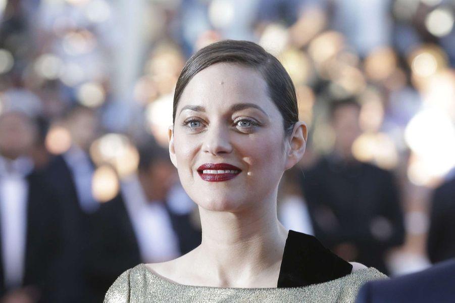 Marion Cotillard à Cannes, le 15 mai 2016.