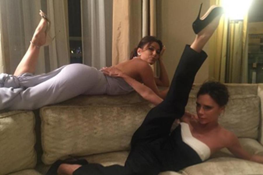 Eva Longoria et Victoria Beckham inséparables