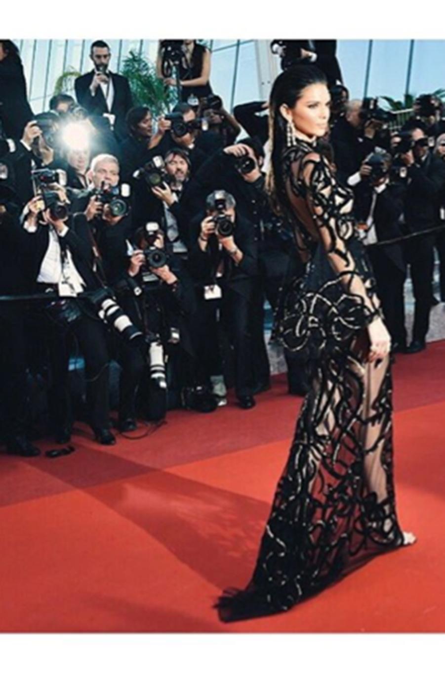 Kendall Jenner sur le red carpet du 69e festival de Cannes