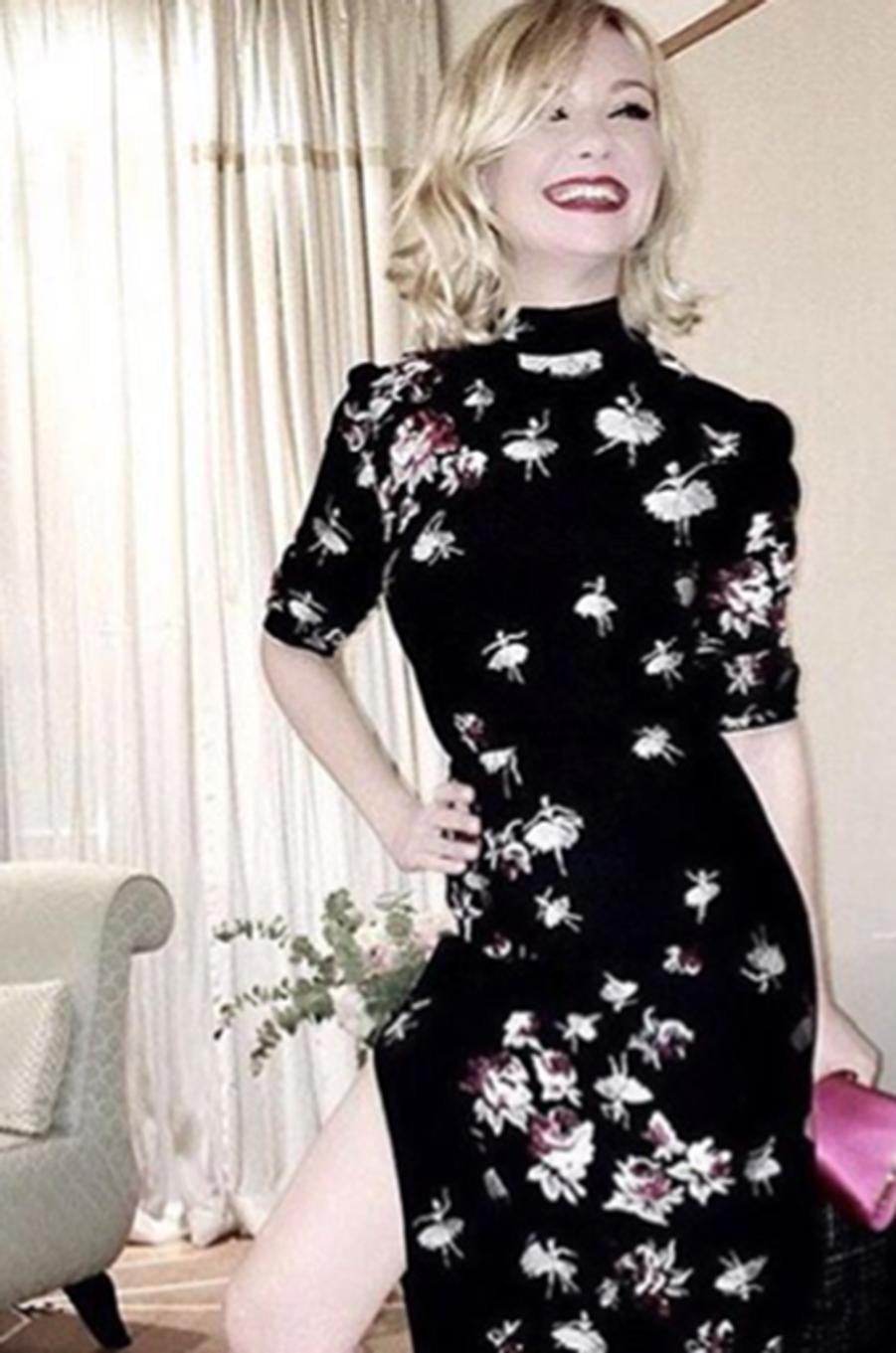 Kirsten Dunst une juré tout sourire