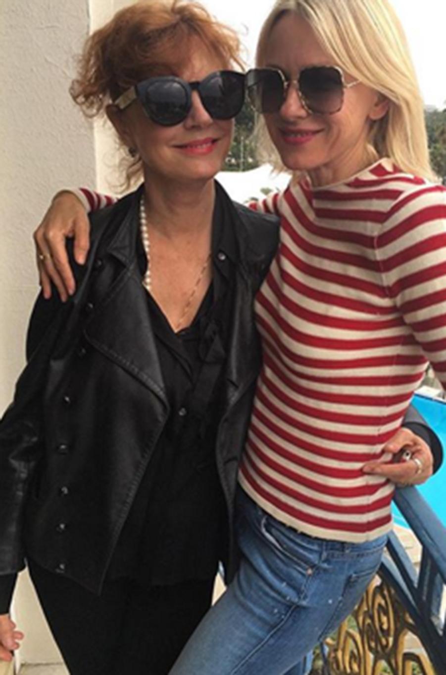 Susan Sarandon et Naomi Watts