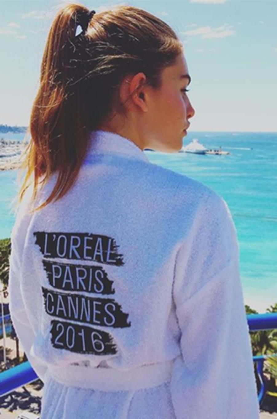Thylane Blondeau, égérie l'Oréal