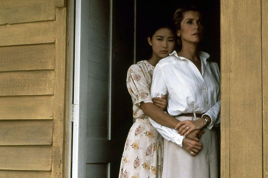 "Catherine Deneuve dans ""Indochine"", sorti en 1992"