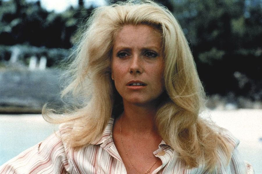 "Catherine Deneuve dans ""Le sauvage"", sorti en 1975"