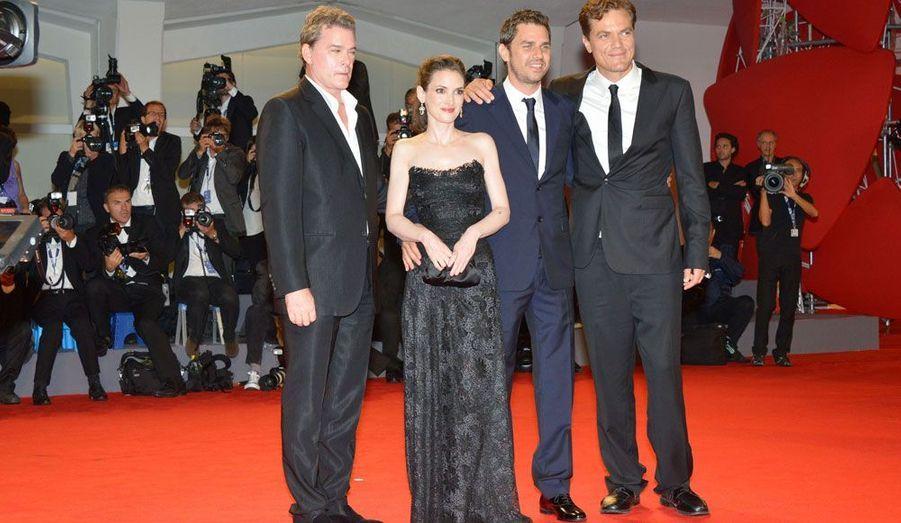 Les quatre stars défendent le film «The Iceman».