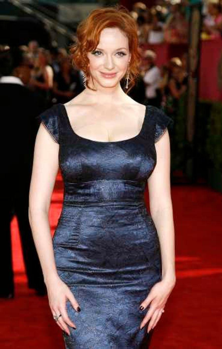 Christina Hendricks a remis au goût du jour les formes en jouant la pulpeuse Joan Holloway dans Mad Men.