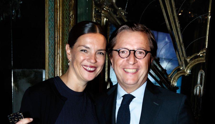 Sabine Brunner, directrice générale de Roger Vivier, et Stefano Sincini, directeur financier Tod's.