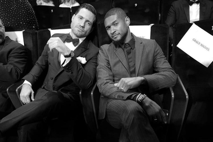 Edgar Ramirez et Usher
