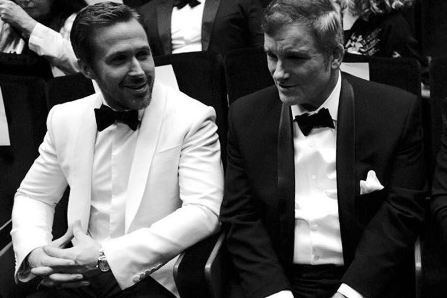 Ryan Gosling et Shane Black