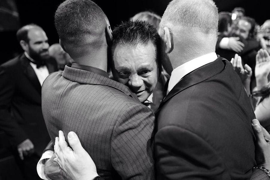 Usher, Roberto Duran et Harvey Weinstein