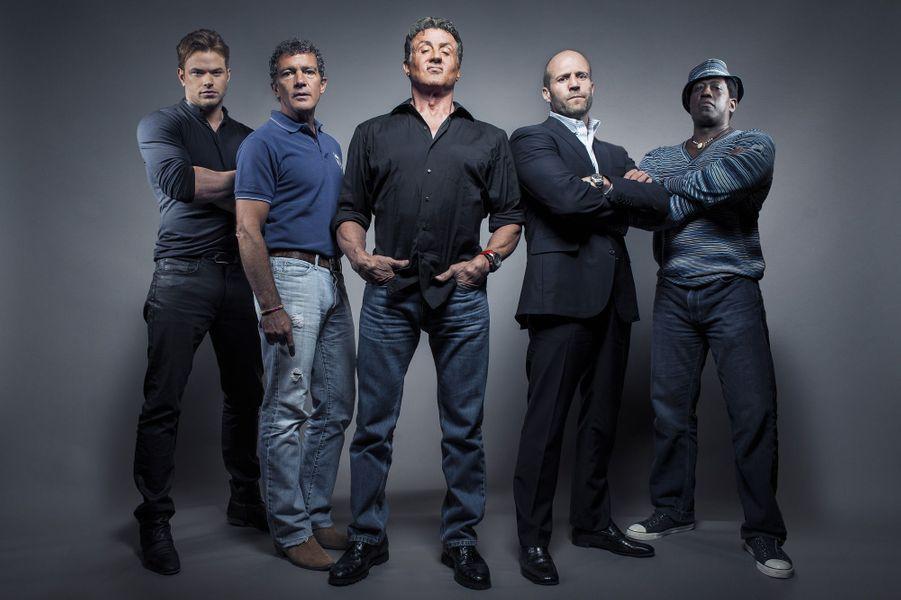 """L'équipe du film """"Expendables 3"""""""