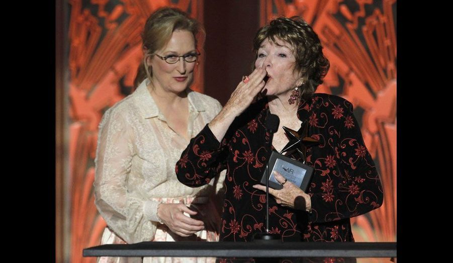 Meryl Streep et Shirley MacLaine