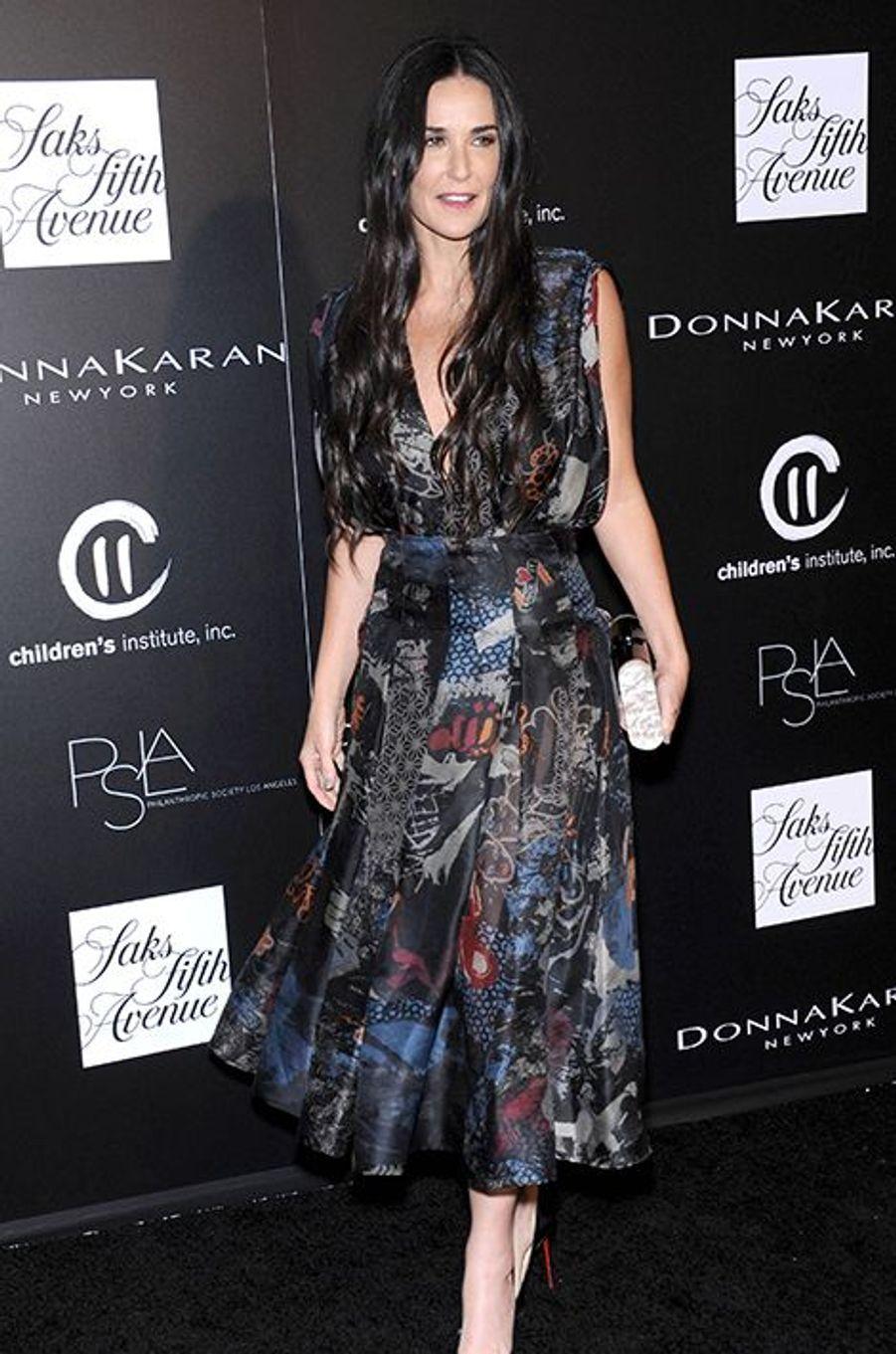 Demi Moore à la «Philanthropic Society Autumn Party» de Los Angeles ce 8 octobre 2014