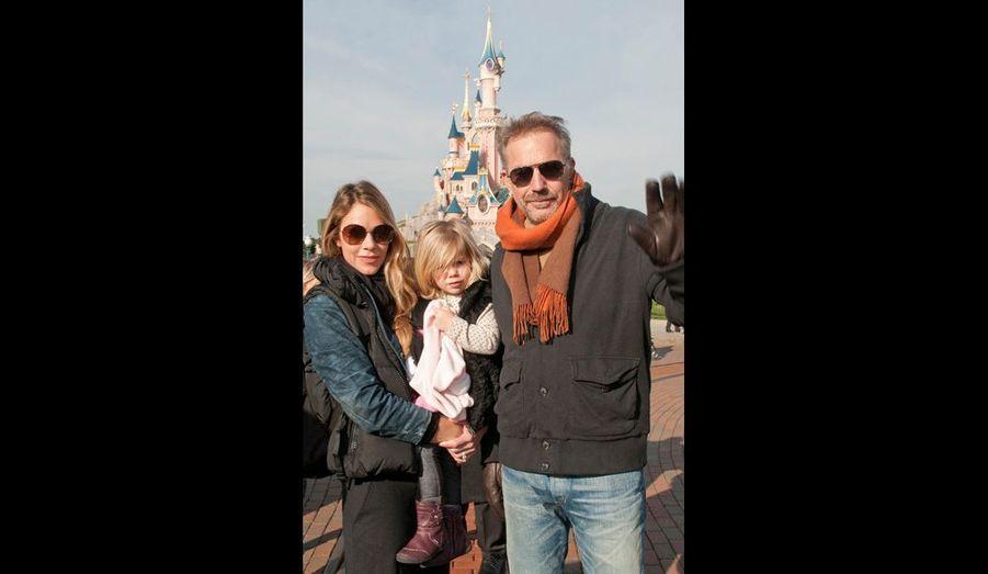 Kevin, Christine et leur fille Grace