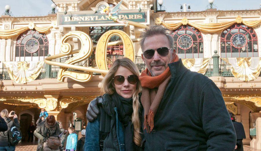 Kevin Costner et sa femme Christine