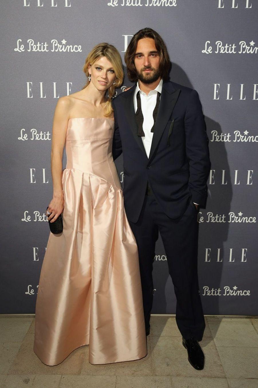 Dimitri Rassan avec son épouse Masha