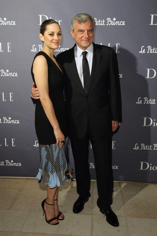 Marion Cotillard et Sidney Toledano, PDG de Christian Dior Couture.