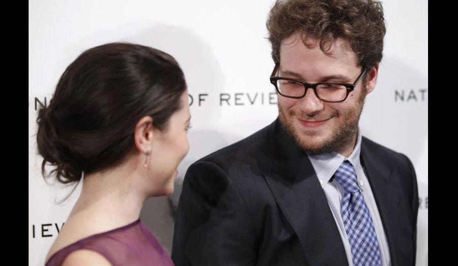 Seth Rogen et son épouse Lauren Miller