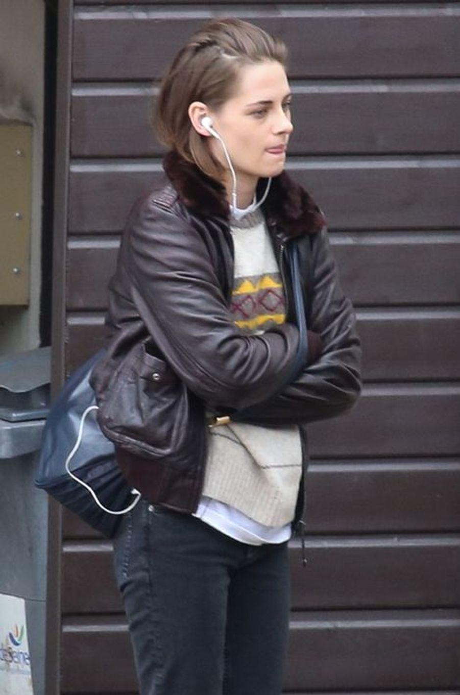 Kristen Stewart à Paris le 3 novembre 2015