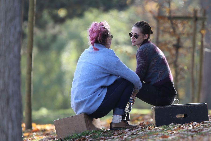 Kristen Stewart à Paris le 30 octobre 2015