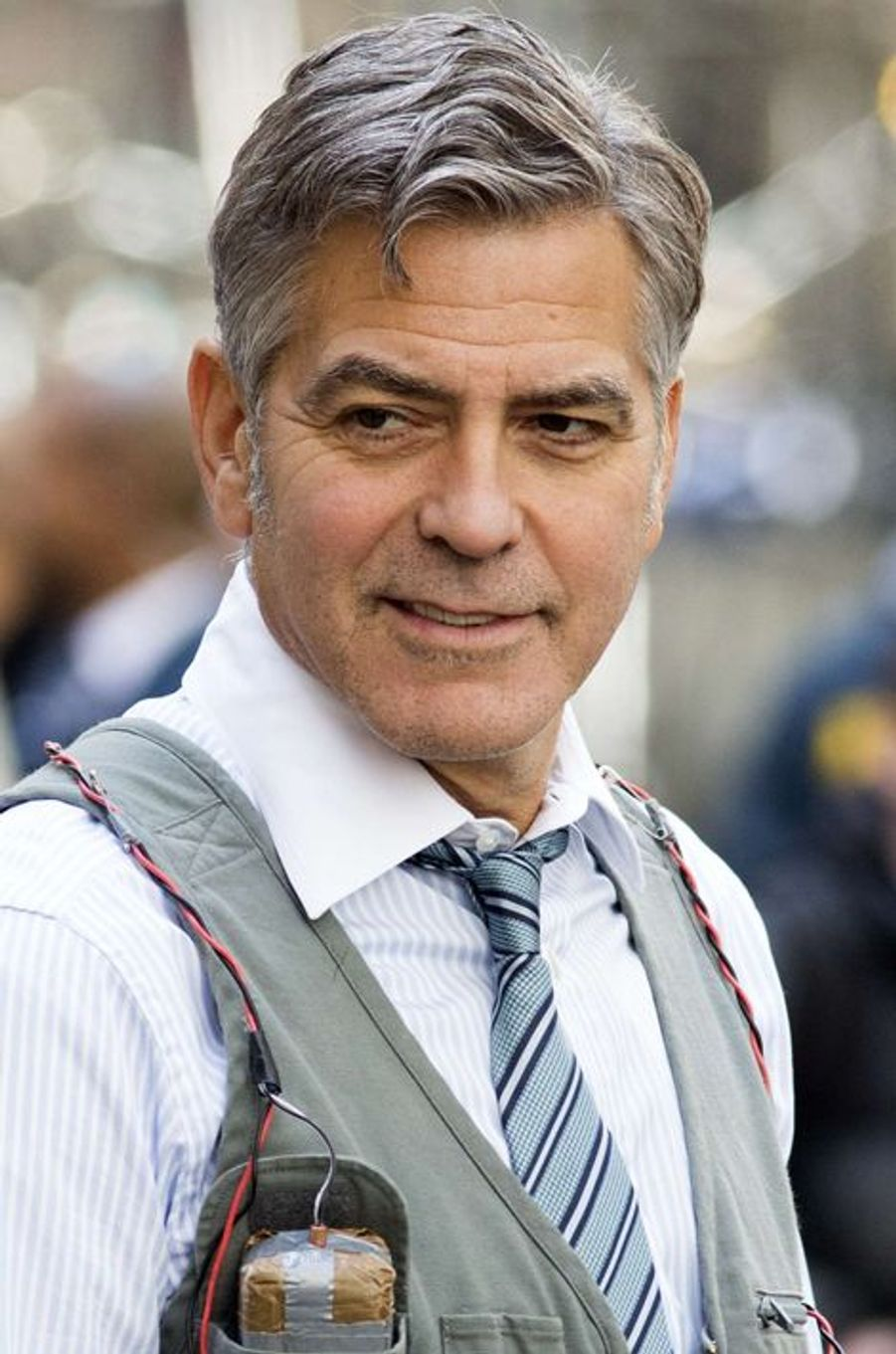 George Clooney à New York le 12 avril 2015