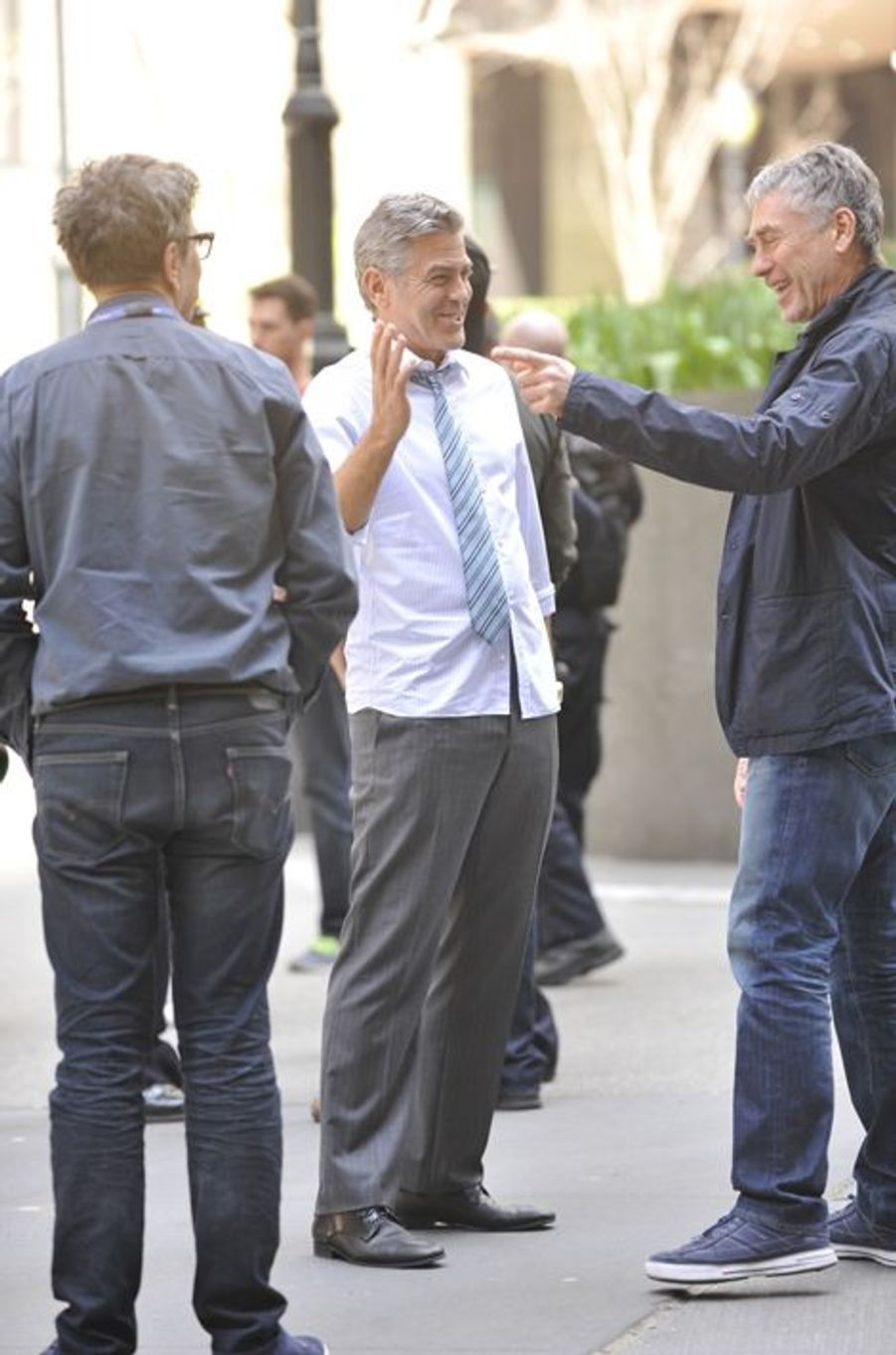 George Clooney à New York le 18 avril 2015