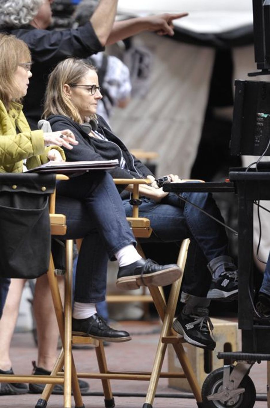 Jodie Foster à New York le 18 avril 2015