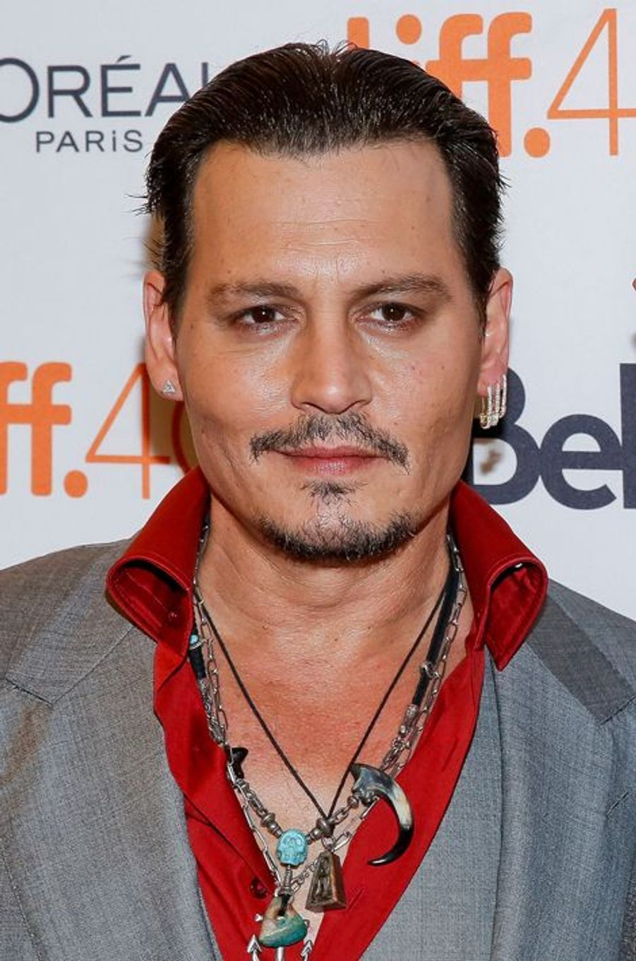 Johnny Depp à Toronto le 14 septembre 2015