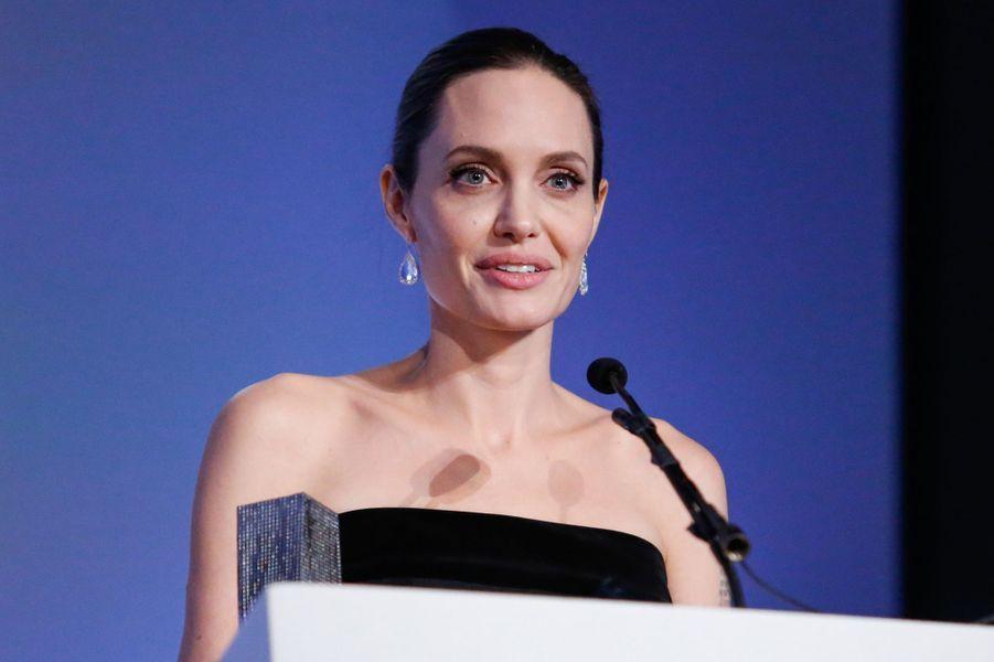 Angelina Jolie à New York le 4 novembre 2015