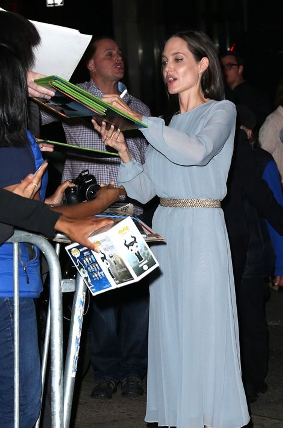 Angelina Jolie à New York le 3 novembre 2015