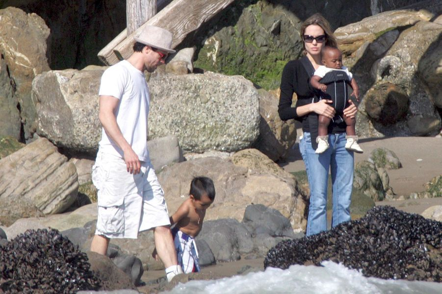 En octobre 2005 sur une plage de Malibu
