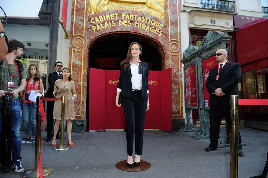Angelina Jolie, poupée de cire