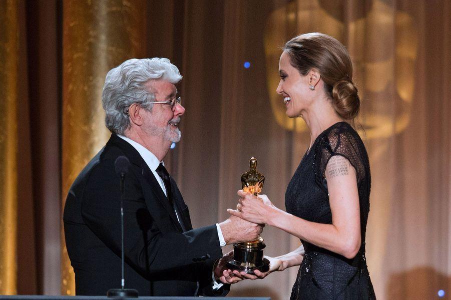 Un prix remis par George Lucas