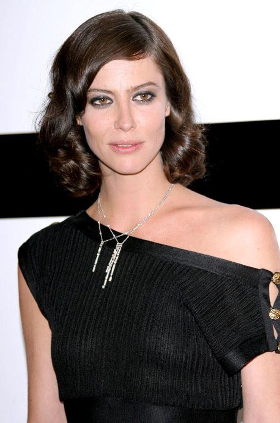 En 2009 lors du défilé Chanel
