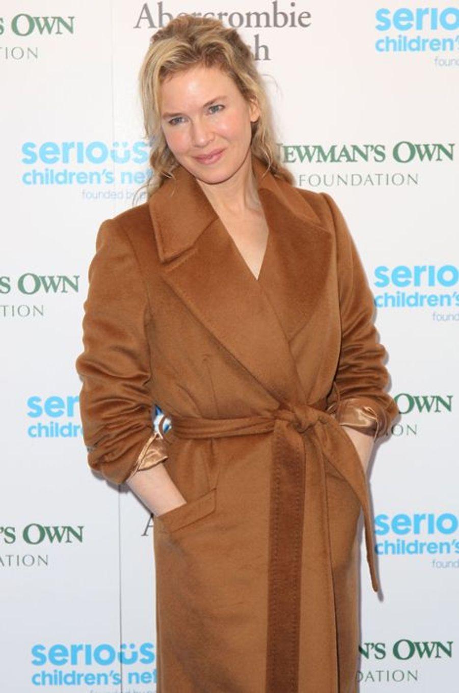Renée Zellweger à Londres le 3 novembre 2015