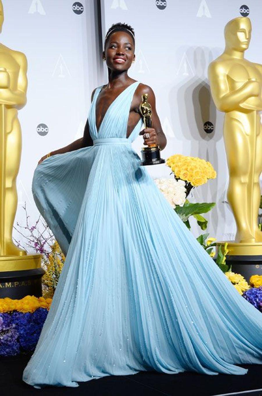 Lupita Nyong'o en Prada